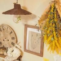 3月8日はミモザの日。黄色がまぶしい、春の花「ミモザ」 はどう飾る?の画像