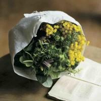 プロに学ぶ、花束をきれいに見せる「ラッピング」のアイディア集!の画像