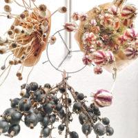 天井や壁はアイディア無限大のフリースペース。自由にグリーンや花を飾ろう!の画像