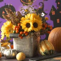 サンリッチひまわりを使った秋アレンジ5選の画像