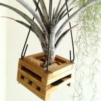 木製バスケットのつくり方|簡単DIYで観葉植物をおしゃれに飾ろうの画像