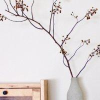 北欧インテリアにも◎枝ものアレンジメントでシンプルに暮らしを飾ろうの画像