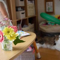 お花大好き!大越ファミリーがメルシーフラワーのお花で過ごす休日の画像