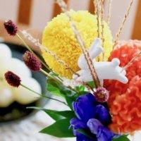 中秋の名月に花を添える。ステキな十五夜お月見アレンジのコツとは?の画像
