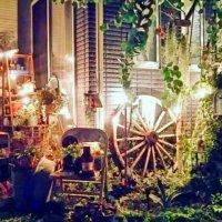 ガーデンライトで夜のお庭を幻想的に!みんなの飾り方アイデアとは?の画像