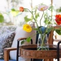 お部屋に花を飾ろう!花瓶と草花の合わせ方は?アレンジメントのアイデア集の画像