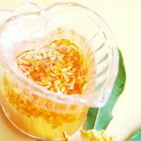 キンモクセイ(金木犀) のシロップの作り方、花の収穫の時期や方法は?の画像